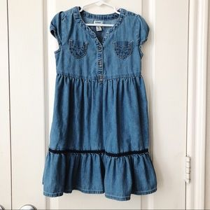 Girls old navy jean dress